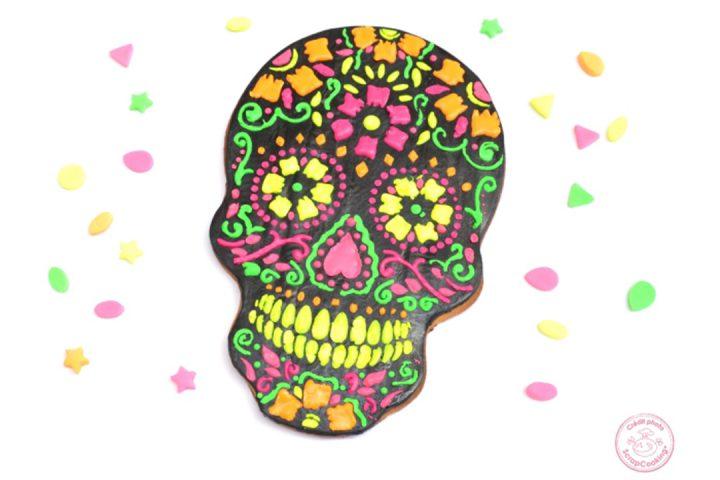 Le Calavera Cake de la Fête des Morts Mexicaine