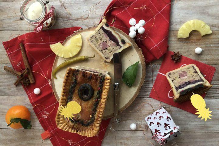 Pâté en croûte de Noël Antillais