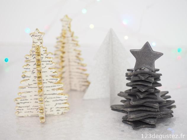 Décoration de Noël en pâte à sucre