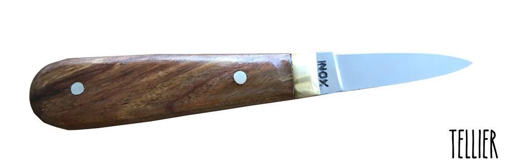 Couteau à Huître en Inox de 16 cm.