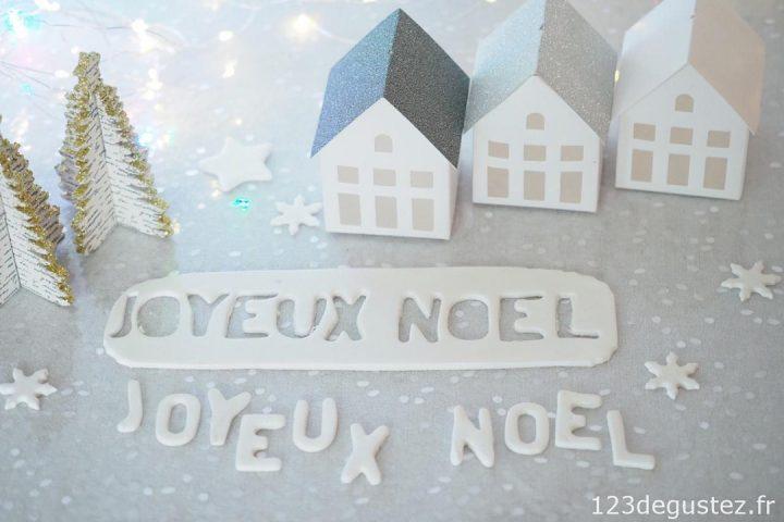 3 Décorations en Pâte à Sucre pour Noël !