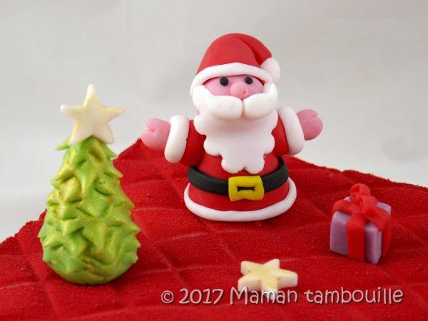 Décorations de Noël en Pâte à Sucre.