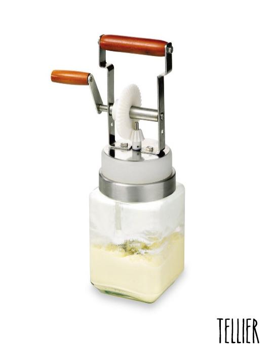 Baratte à beurre manuelle