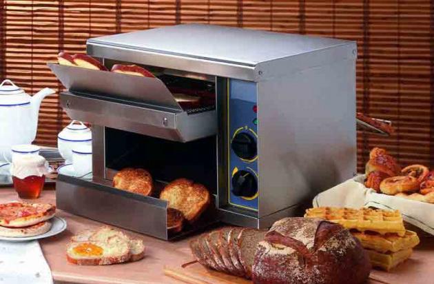 Grille-pain horizontal : croque-monsieur, pizza, tout y passe !