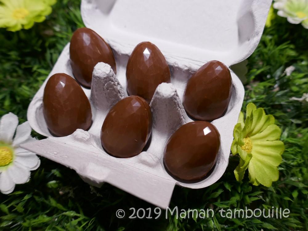 Oeufs en Chocolat de Maman Tambouille.