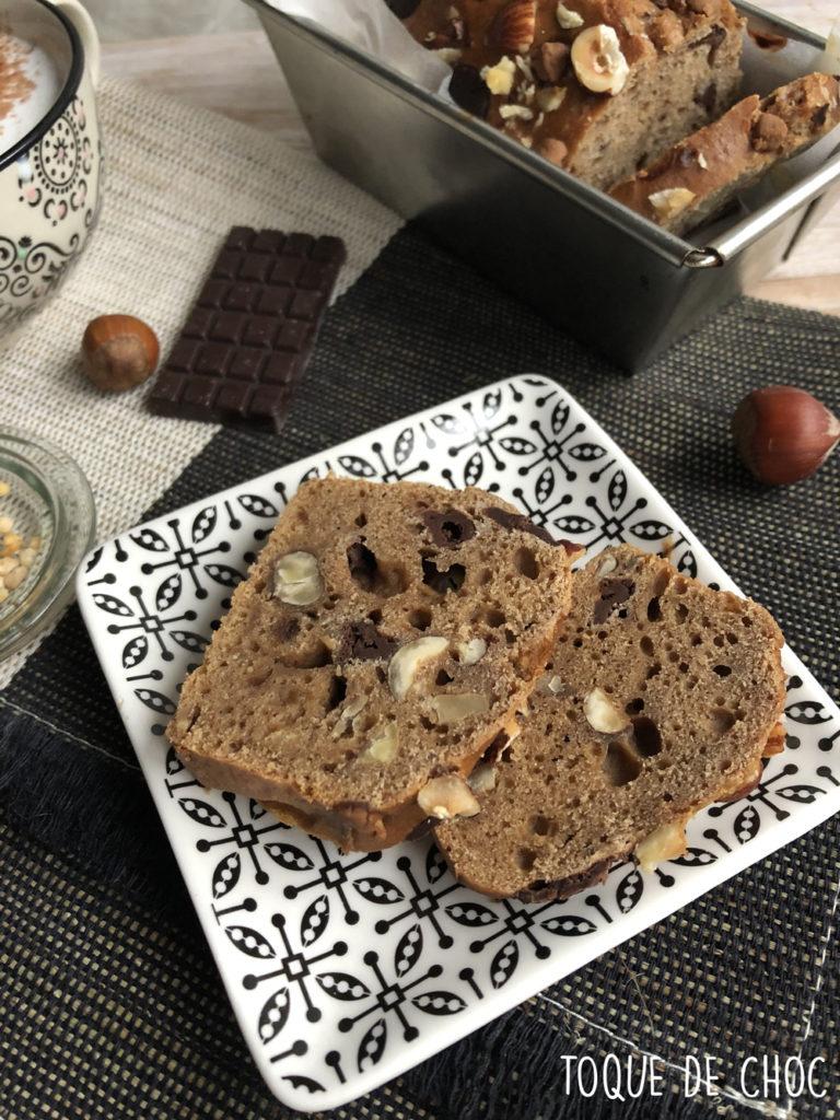 Tranches de Banana Bread Praliné Noisette !