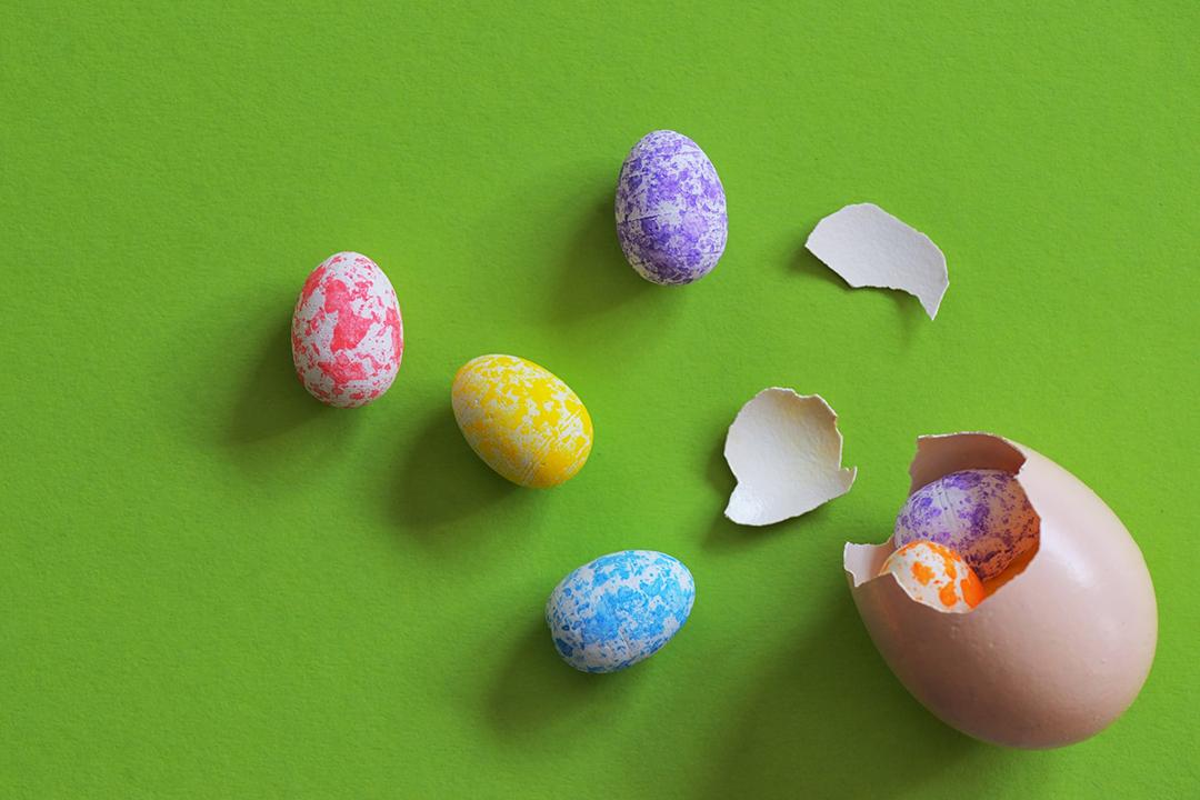 Comment garnir ses oeufs de Pâques ?