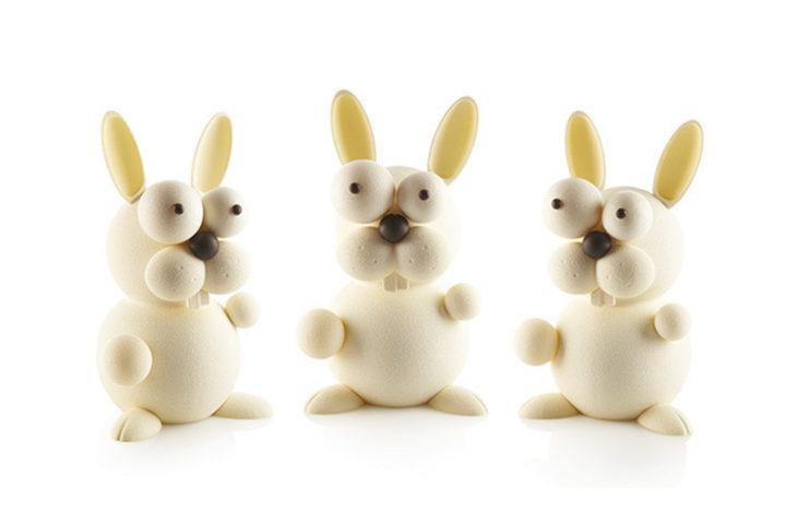 Tutoriel : réaliser le lapin de Pâques en chocolat Silikomart