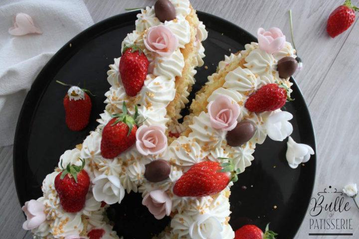 Gâteau Lapin : Bunny Cake Fraise Chocolat