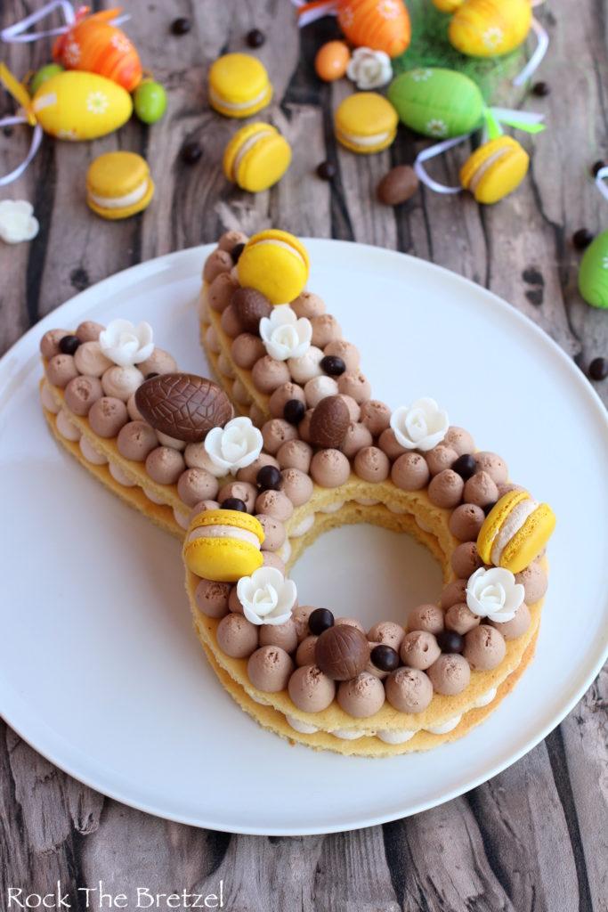 Joyeuse Pâques avec ce Gâteau de Pâques Lapin !