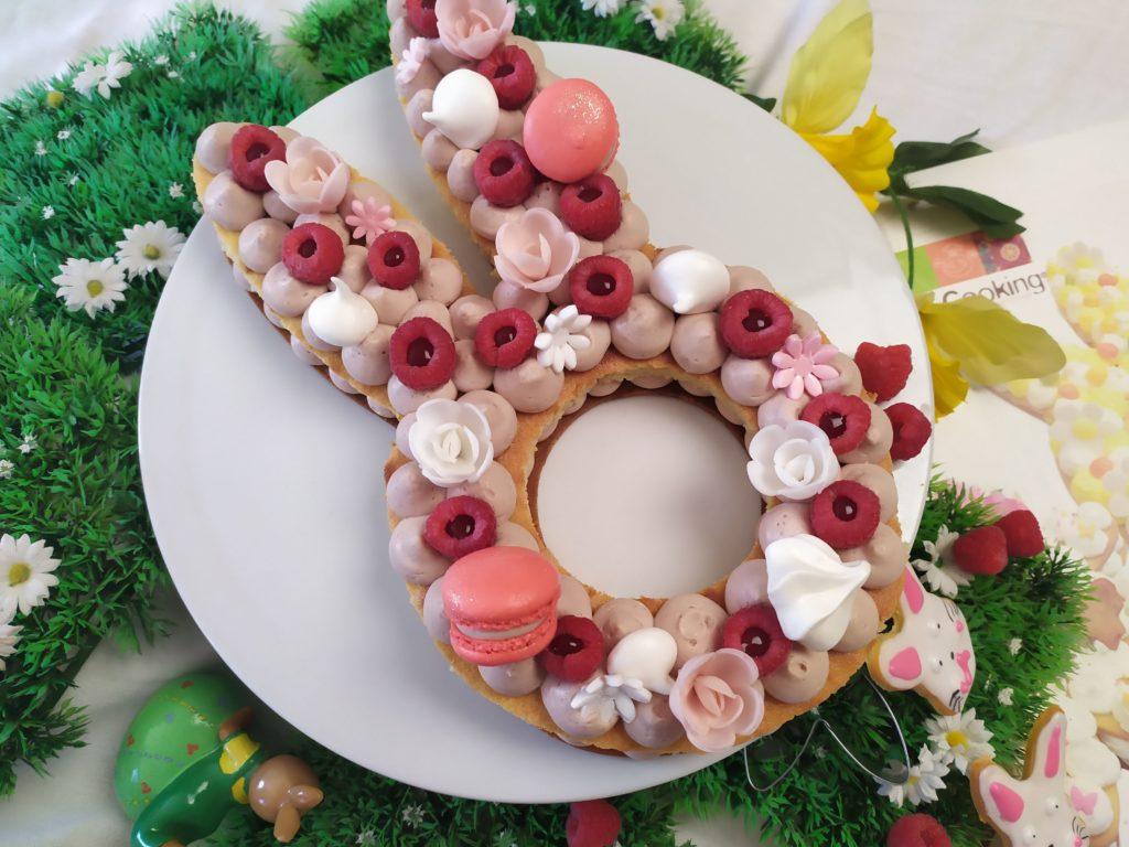 Gateau Lapin Bunny Cake Framboise