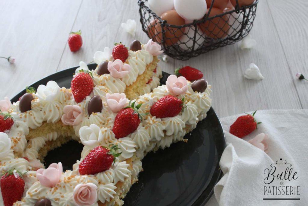Bunny Cake Fraise Chocolat Blanc