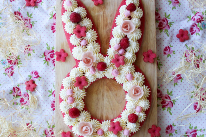 Gâteau Lapin : Bunny Cake Chantilly Vanille