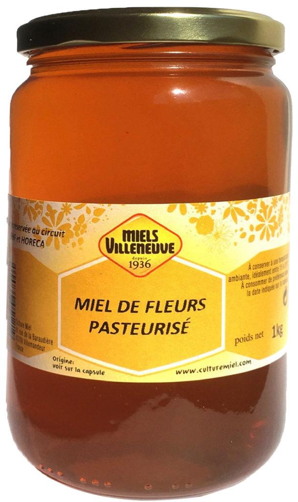 Miel Liquide Toutes Fleurs 1 kg