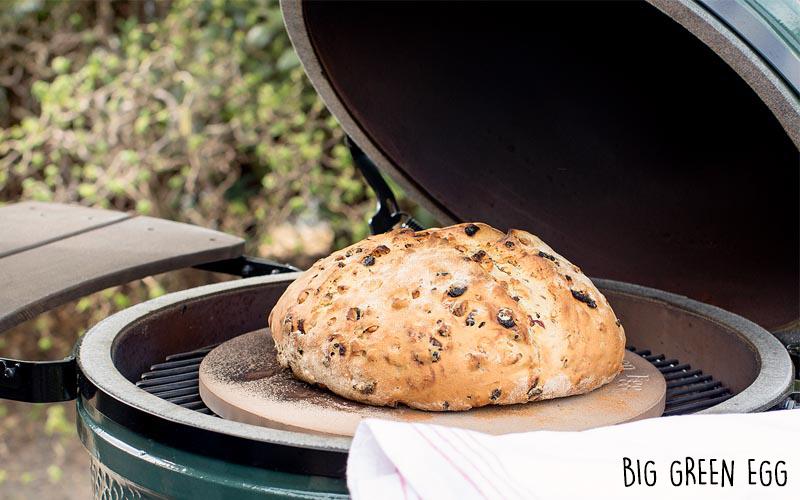 Cuisson au barbecue du pain au blé dur