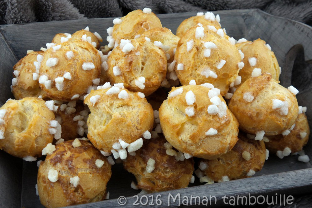Faites des chouquettes maison avec la recette de Maman Tambouille !