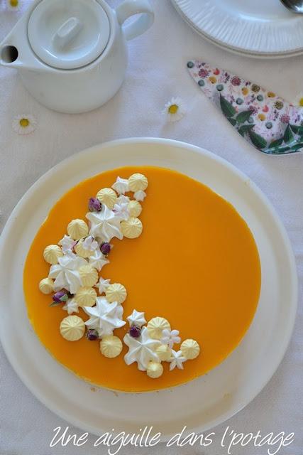 Entremets Mousse d'Abricot par Une Aiguille dans l'Potage