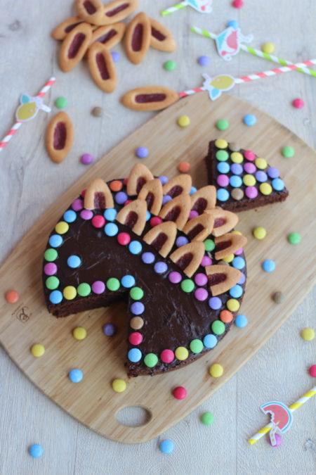 Gâteau poisson d'avril par Rock The Bretzel
