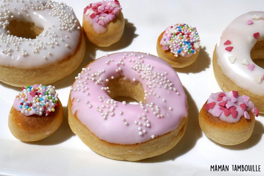 Image Une pour recette donuts au four