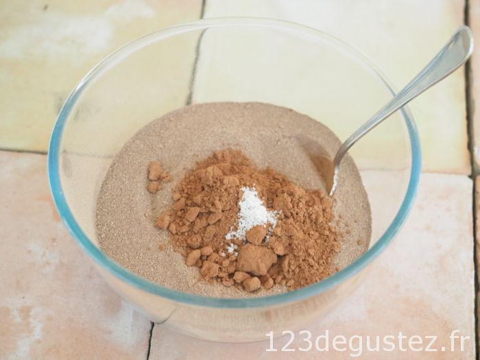 Cacao préparation et fleur de sel