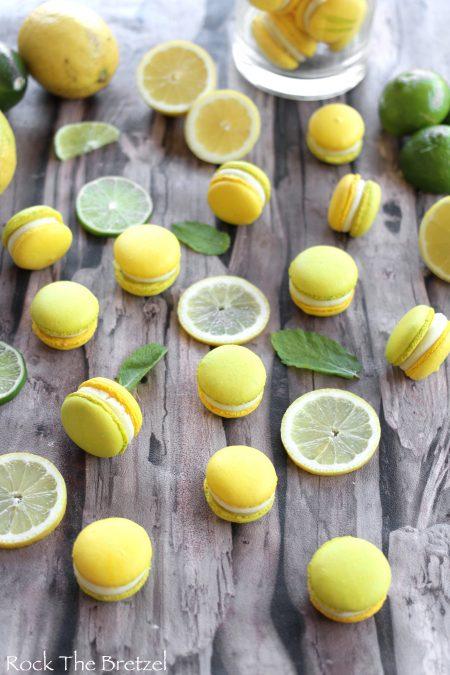 Dégustations de macarons