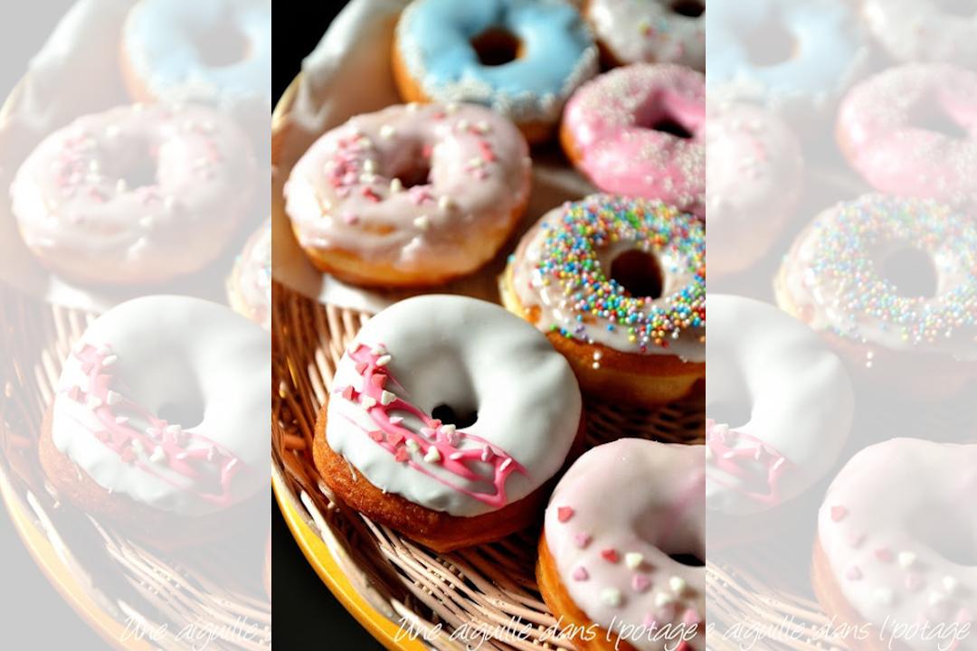 Visuel de une recette donuts maison