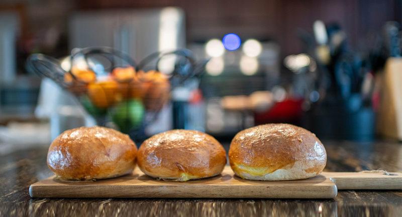 Image présentation buns pour burgers maison