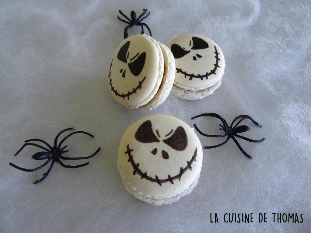 Macarons ganache chocolat et marshmallow