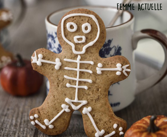 Biscuits d'Halloween