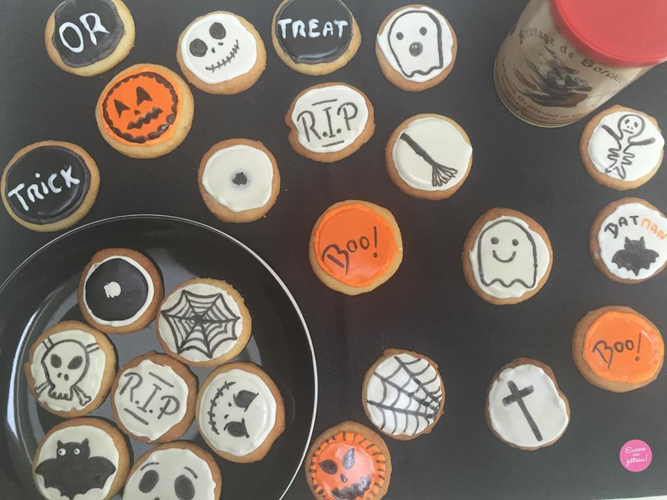 Recette de biscuits sablés