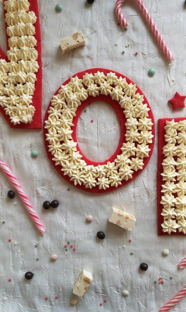 Réalisez un Letter Cake Vanille et Amande