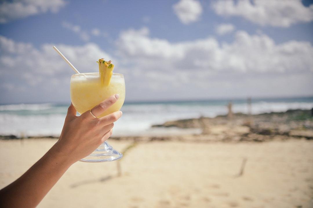 Recette Cocktail sans alcool : Piña Colada avec sirops Monin