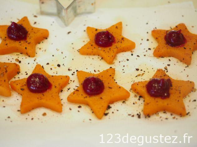 Ajout de la purée de cranberry
