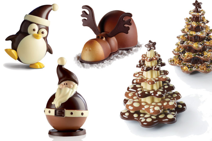 Tutoriel : faire un Moulage Chocolat de Noël