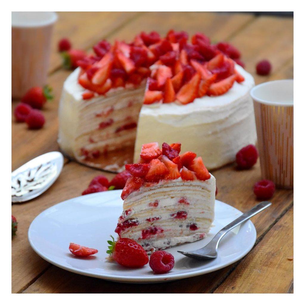 Recette facile : gâteau de crêpes chantilly