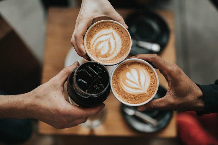Café latte noisette