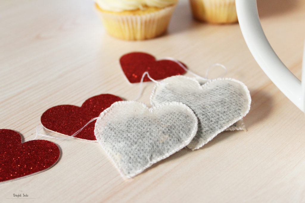 Les sachets de thé Saint-Valentin Crédits : The bright side