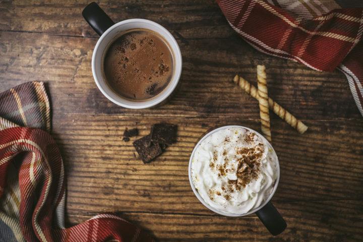 Chocolat chaud viennois à la châtaigne