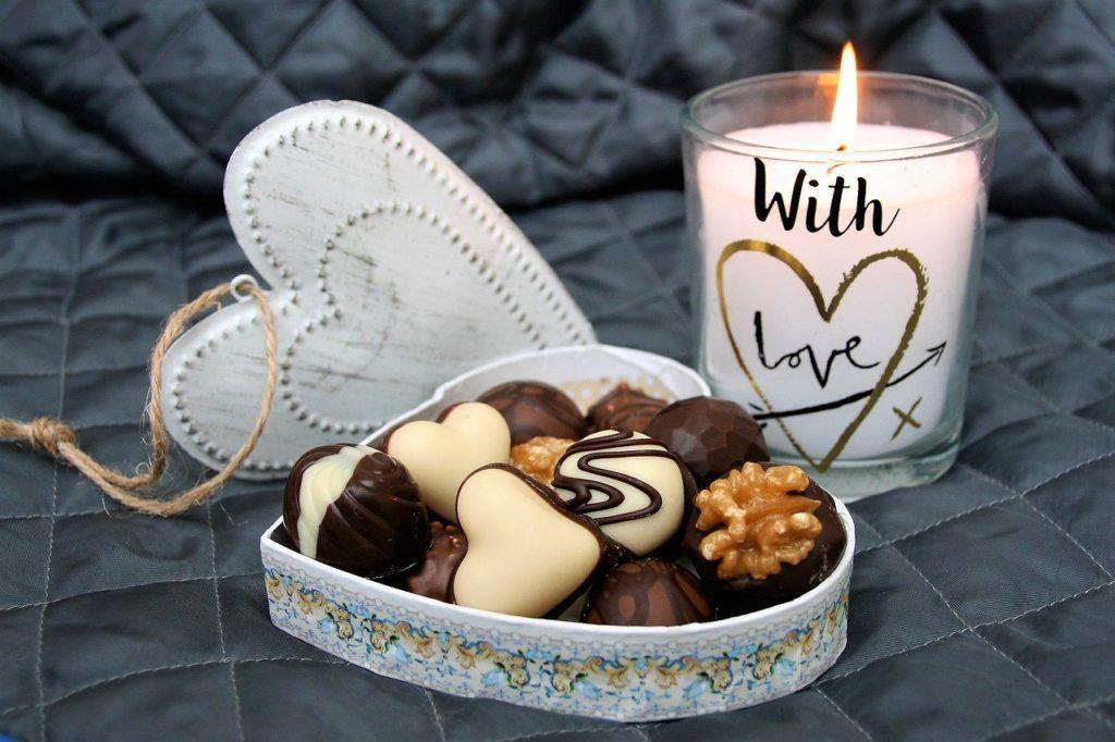 Chocolats faits maison pour la Saint-Valentin