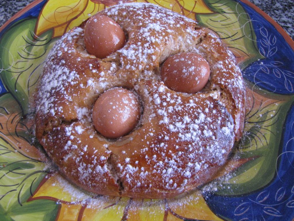 Le traditionnel Folar de Pâques.