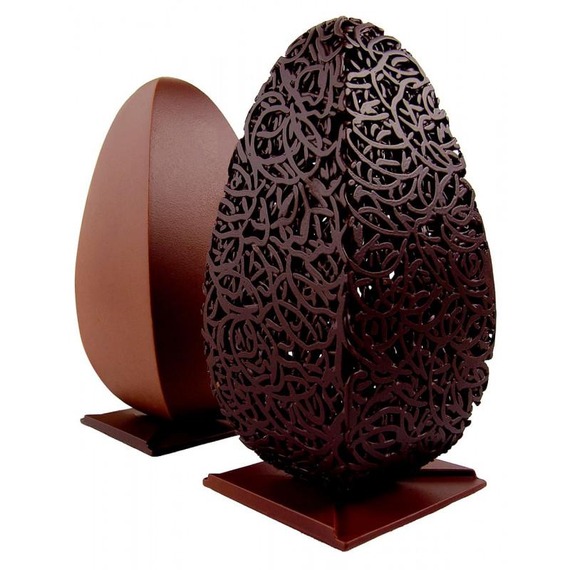 Faire des œufs en chocolat
