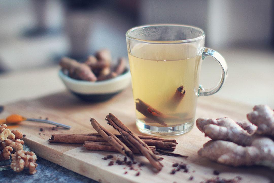 Recette Monin : thé gingembre