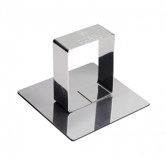 Poussoir de forme carrée