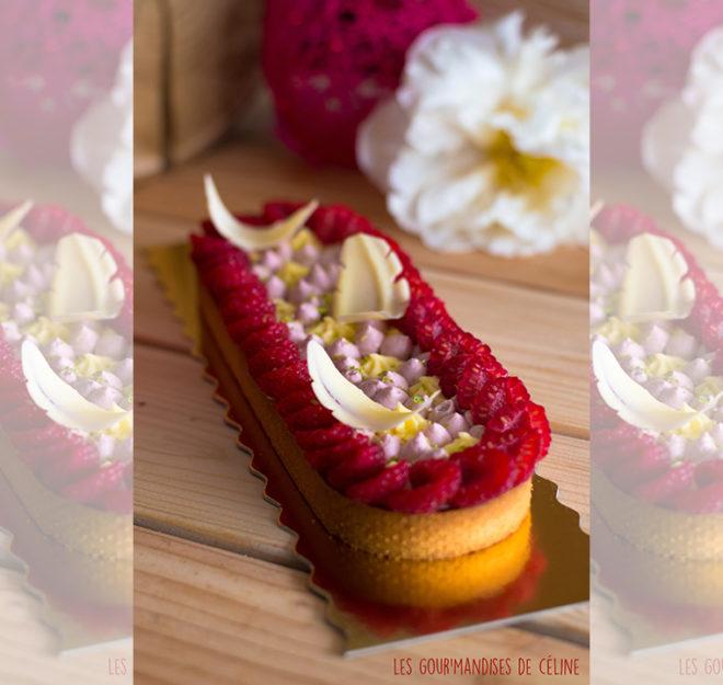 Visuel de une recette tarte à la framboise