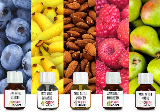 Arômes Alimentaires : dosages et utilisations